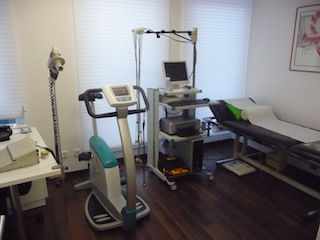 EKG, Lungenfunktion und Ergometrie